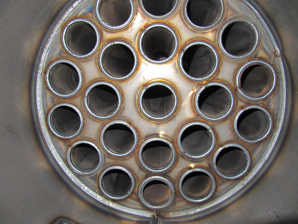Техническими специалистами компании проведена тестовая сварка водогрейного котла