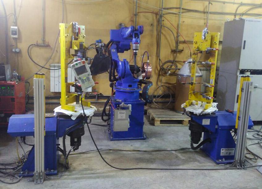Проведены пуско-наладочные работы и сдача РСК на базе робота «YASKAWA» МА -2010