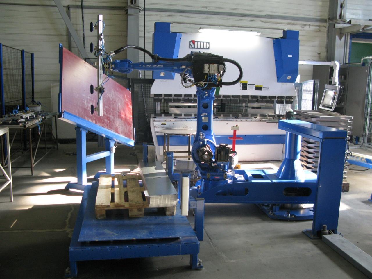 Введён в эксплуатацию роботизированный комплекс на базе робота YASKAWA