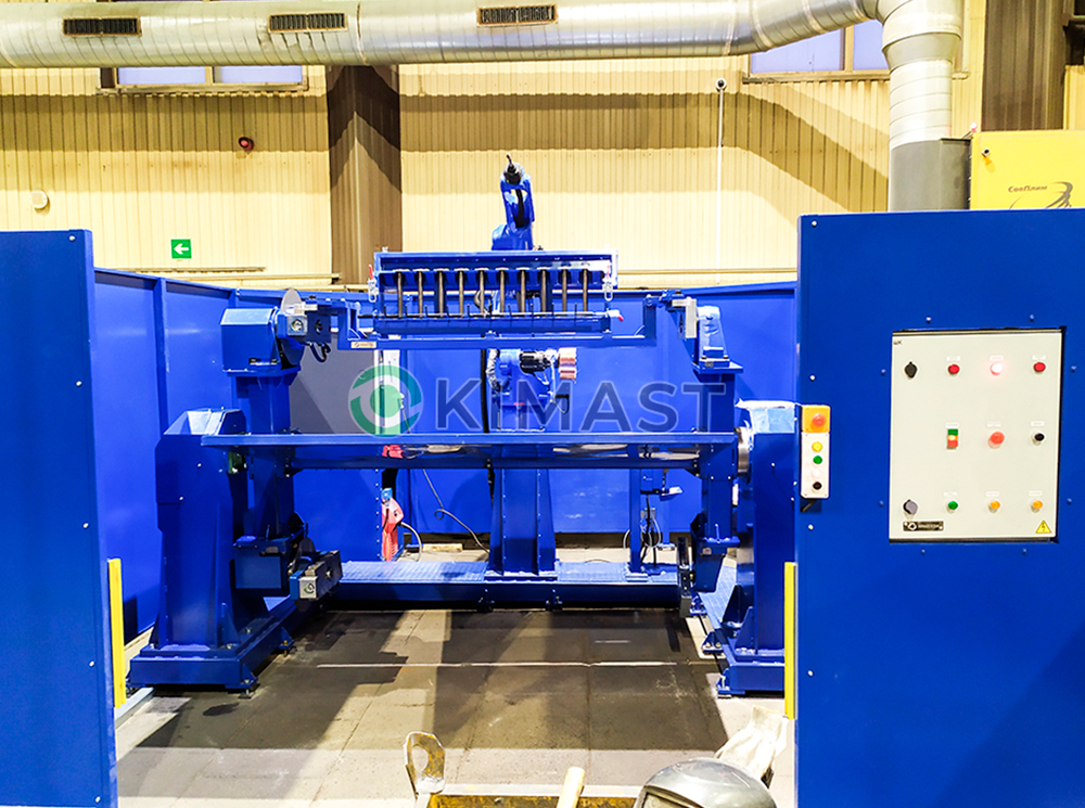 Сдан роботизированный сварочный комплекс для изделий игрового и спортивного оборудования