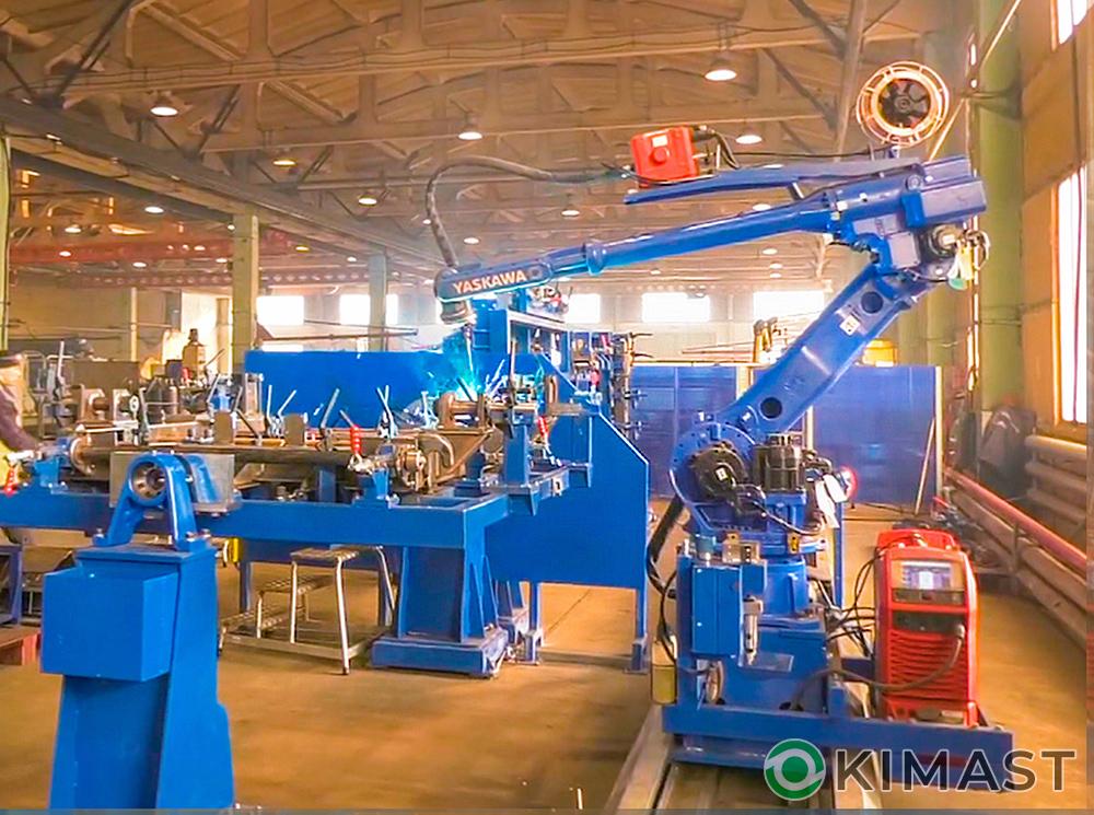 Запуск роботизированного сварочного комплекса в Шумерле привлёк внимание телевидения