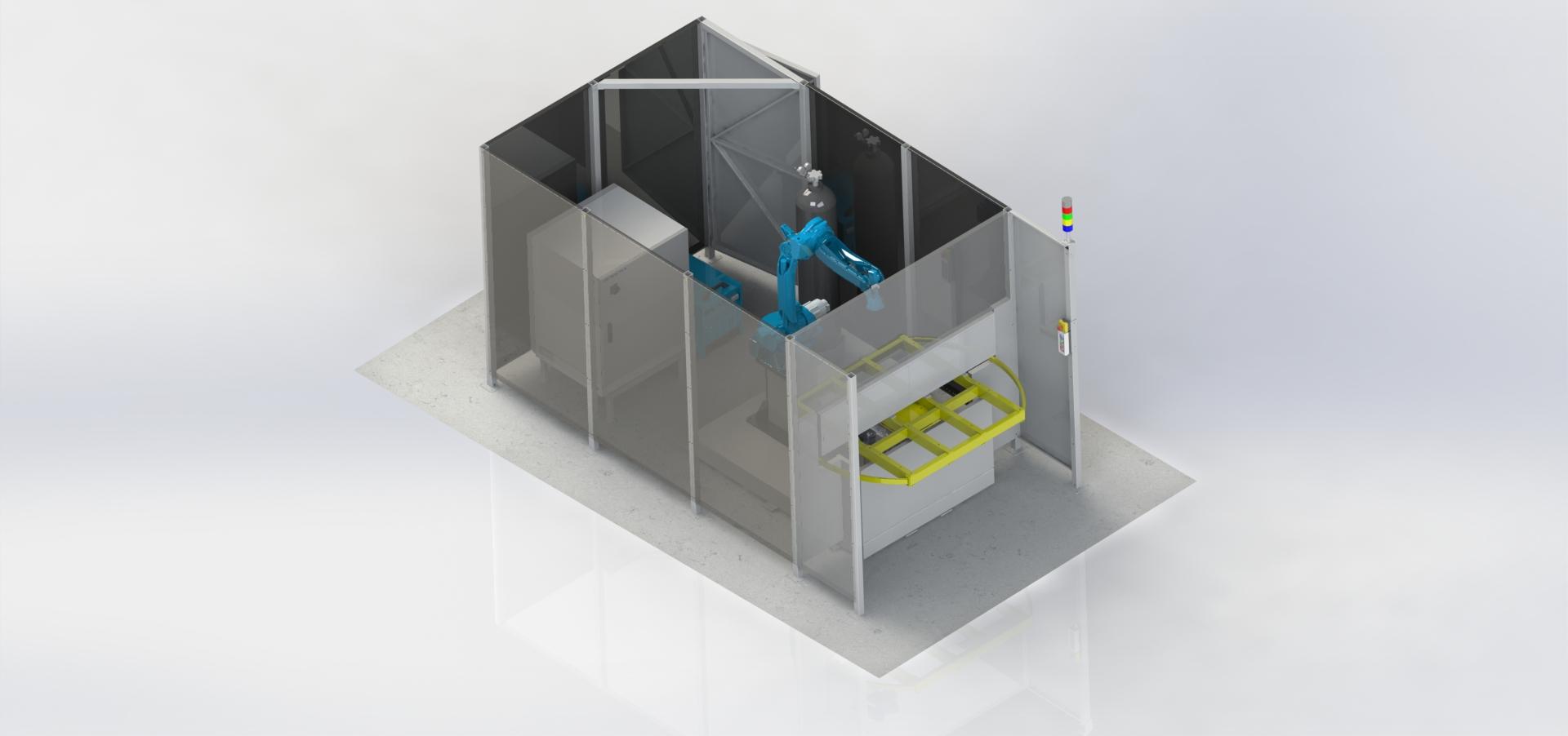 Роботизированный сварочный комплекс 1R1OP